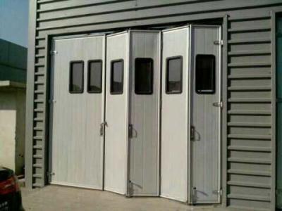 工业折叠门安装方法